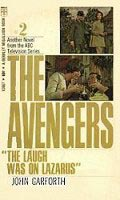 The Avengers - The Laugh Was On Lazarus - Second US cover
