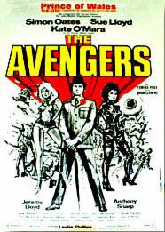 The Avengers Stage Play - Prince of Wales Theatre front of house poster