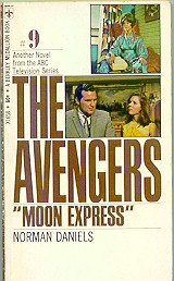 The Avengers - Moon Express cover