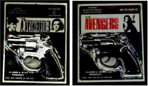 Fake guns from The Avengers