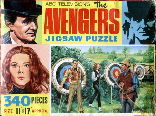 The Avengers Jigsaw 2 - Archery Practice