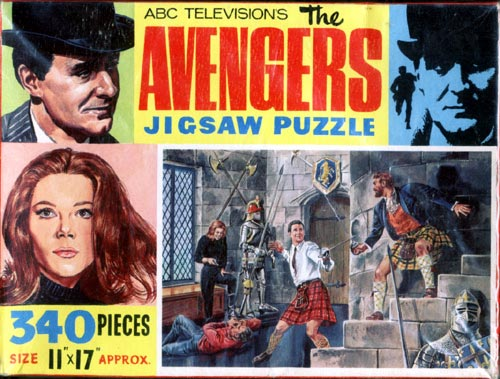The Avengers Jigsaw 3 - Castle De'Ath