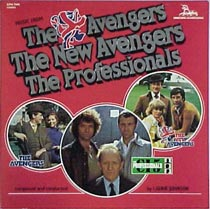 Music From The Avengers, The New Avengers, The Professionals LP