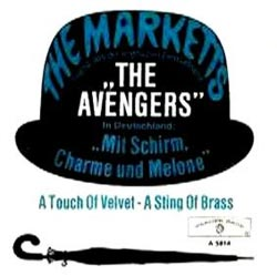 The Marketts - The Avengers (German pic sleeve)