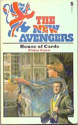 The New Avengers - House of Cards - UK cover