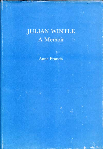 Cover of Julian Wintle: A Memoir by Anne Francis